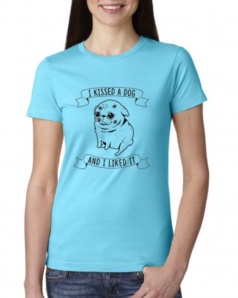 Silent Auction 2020 T-shirt Tahiti Blue Dog